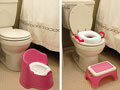 Photo of two kinds of toilet seats for toddlers