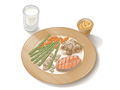 Picture of a sample lunch or dinner plate format